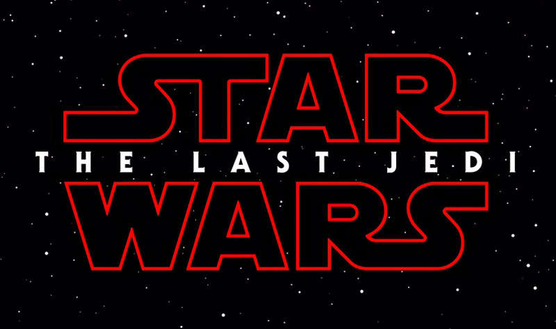 12月15日に公開される「STAR WARS/THE LAST JEDI」のロゴ (C)2017 Lucasfilm Ltd. All Rights Reserved.