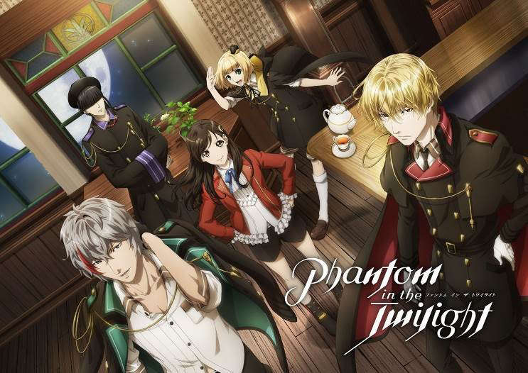 テレビアニメ「Phantom in the Twilight」のビジュアル(C)2018 Happy Elements AP